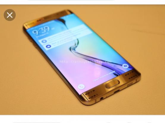Swap sale S6 edge plus 32 gb all accessories
