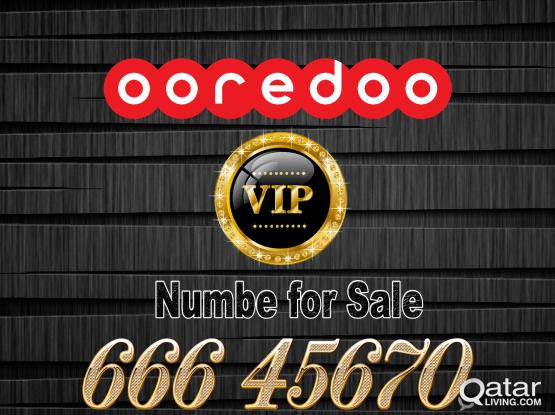 OOredOO VIP Special Number for sale
