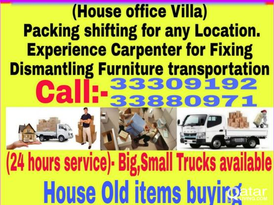 (low price)call 33309192 Shiftng & moving packing Carpentar service