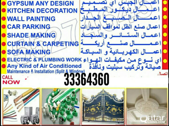 all mantenish, please call. 33364360