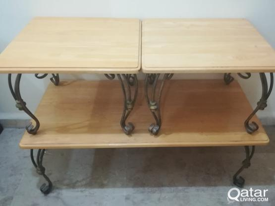 3 tables for sale