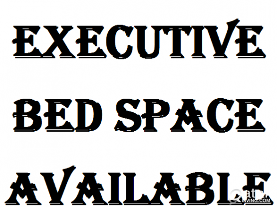 EXECUTIVE BED SPACE AVAILABLE FOR ONE MONTH FROM 1--FEB-2019