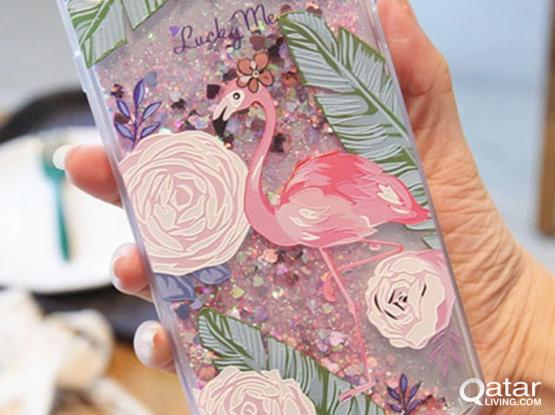 Brand New Cute Covers for IPhone-With Quick Sand Glitters & Sparkles