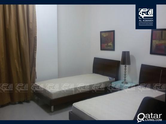 Fully Furnished 3-Bedrooms Apt in Al Nasr (GR14)