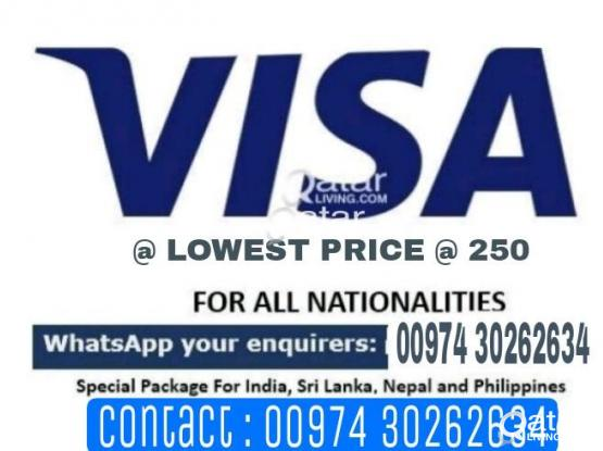 QATAR VISA WITH IN 48 HRS NO ADVANCE