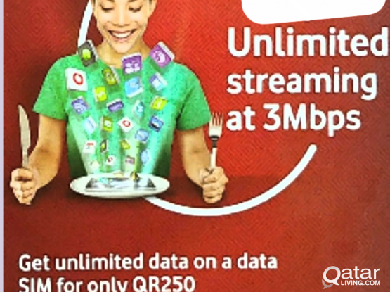 Unlimited internet with free mifi offer for 250qar