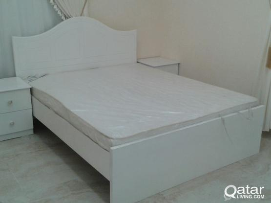 New Bed,Mattress,Cupboard etc.Contact:30768810