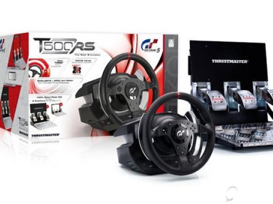 Thrustmaster T500 RS Steering Wheel for PS4, PS3, PC