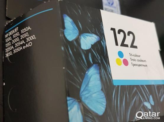 HP Printer Cartridge Number 122 Colour pack