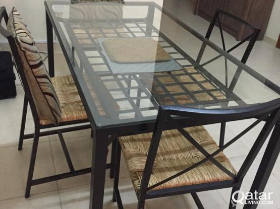 Excellent Table and Chairs on sale !!!