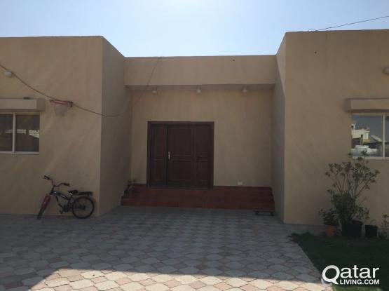 1 BHK Family Accommodation in Wakra (Rent Included W&E)