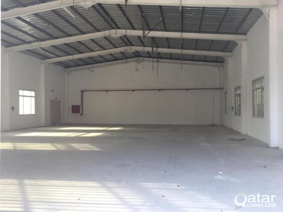 Warehouse available 380 square meters available at industrial area 35 right side