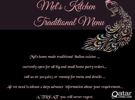 Mel's Homemade Traditional Cuisine