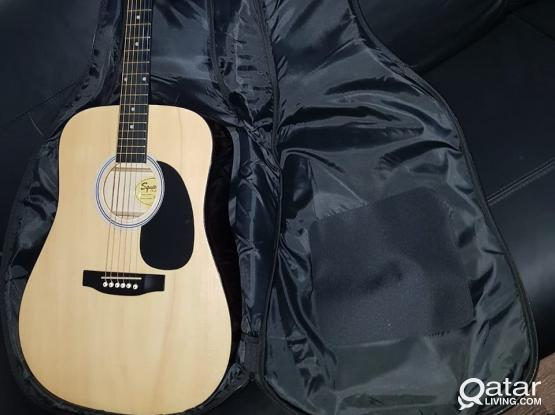 Guitar SQUIER BY FENDER with soft case