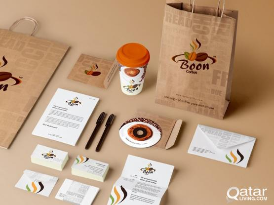 Branding, Corporate Gifts, Stickers, Letter Head, Catalogs, Signage board