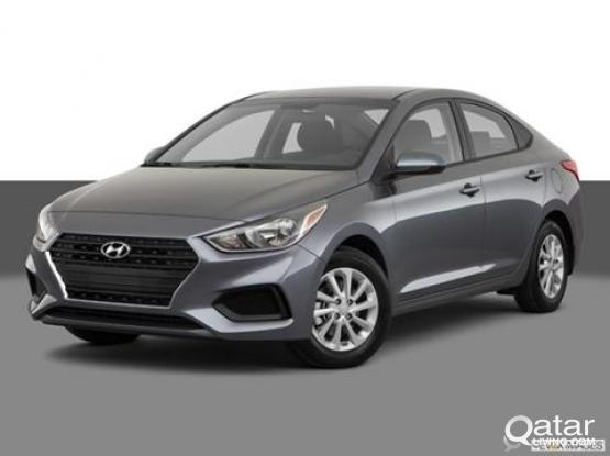 Hyundai Accent brand new available for hire