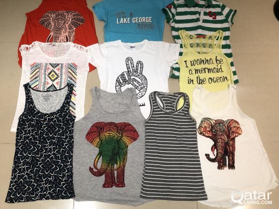 Women's T-Shirts, Size S