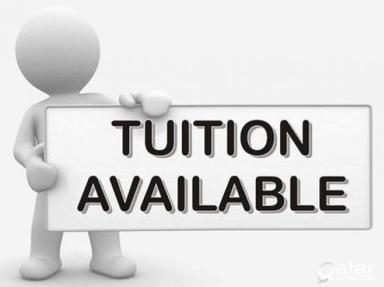 Private Tution for Students from 1 to 10 in Abu hamour