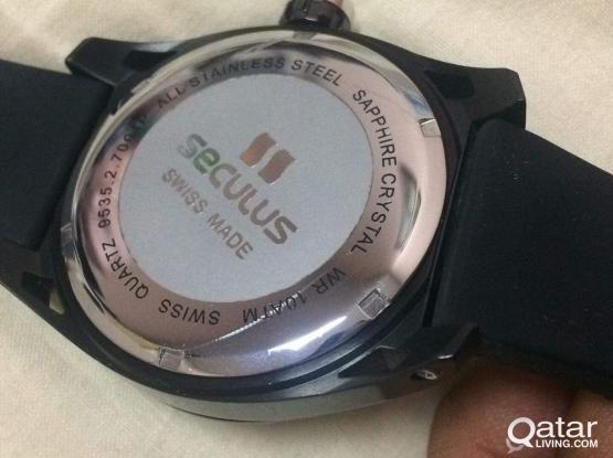 Seculus Swiss watch
