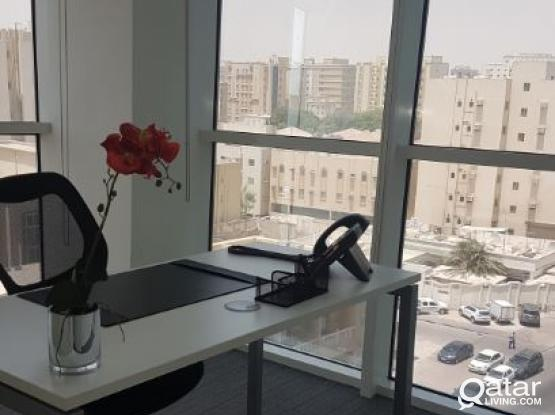 LUXURIOUS MUNTAZAH OFFICE COMPLETE WITH INTERNATIONAL STYLE FACILITIES