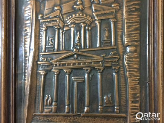 Magnificent Petra Jordan - bronze coated