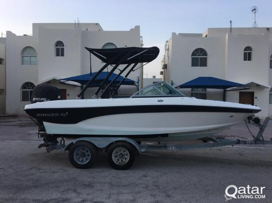 RINKER 186 BOAT INCL. WAKEBOARD TOWER