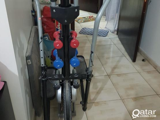 Cross trainer + And king for sale