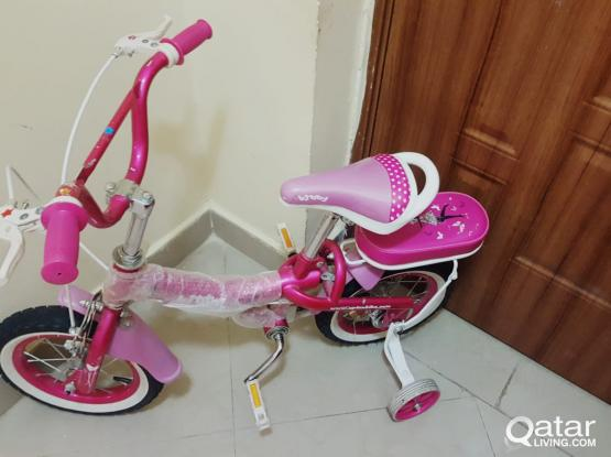 Bicycle Suitable for 2.5 to 6 Years Child
