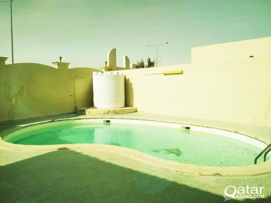 3 Bhk Furnished Compound Villa Available For Rent In Al Luqta