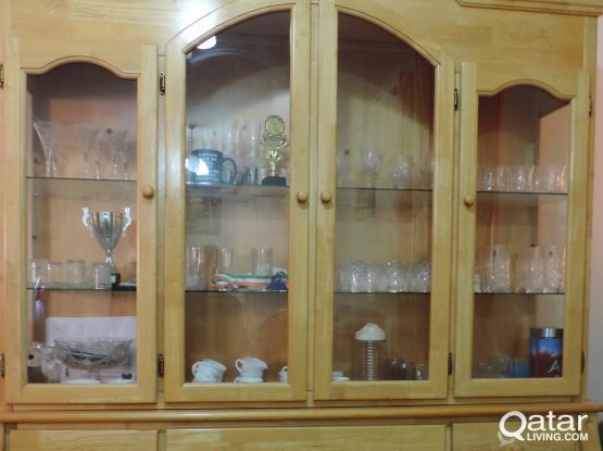 Wooden  Crockery Shelf