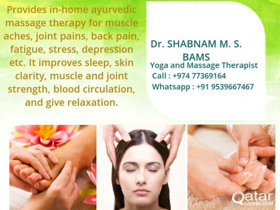 Therapeutic Massage for Women (تدليك للنساء