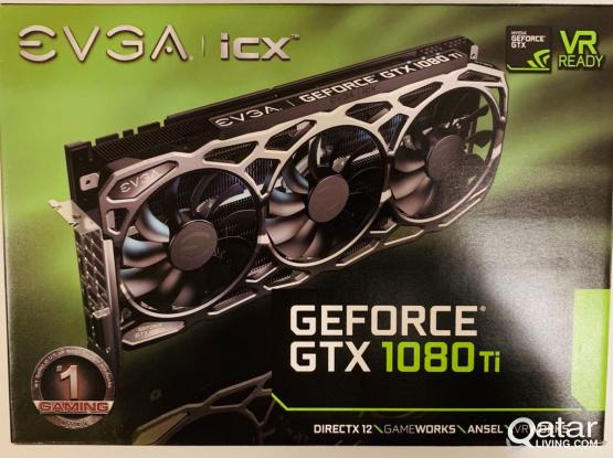EVGA GeForce GTX 1080 Ti FTW3 11GB Gaming GPU