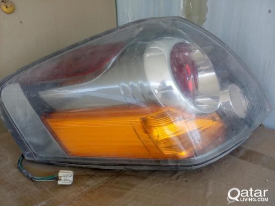 HEAD LIGHT AND TAIL LIGHT FOR ALTIMA