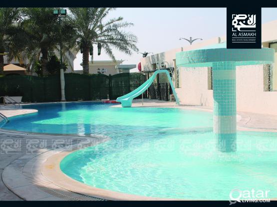 Semi Furnished 4-Bedroom Villa at Al Waab (DG)