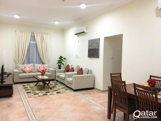 No Commission Fully furnished 2 Bedrooms Apartment At Bin Omran Opposite Al Ahli Hospital.