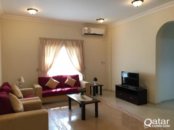 no Commission Fully Furnished 2 Bedrooms Apartment in Old Airport Near Lulu 'D' ring road