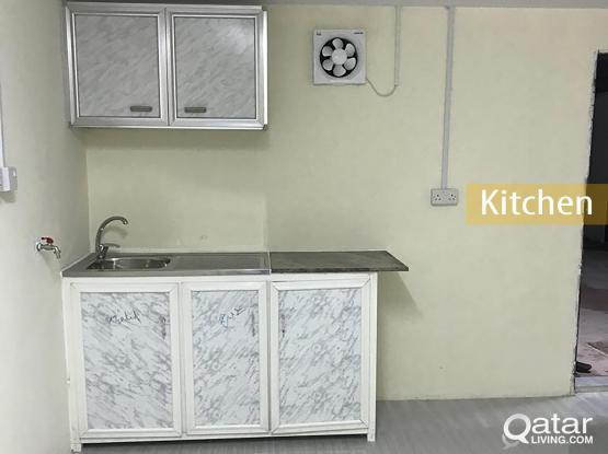 1MONTH FREE! 1 Room Unfurnished Apartment Available For Rent In Muaither-