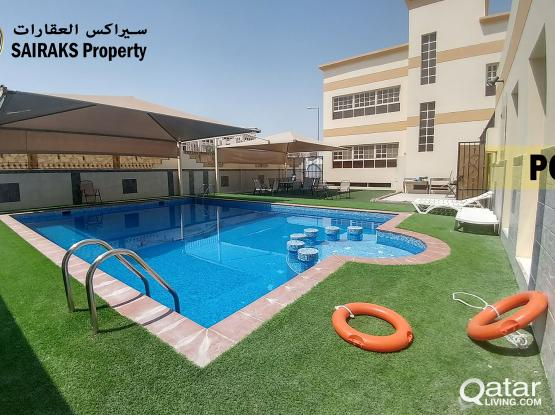 With Pool and Gym! 1 BHK Apartment  For Rent In Al Kheesa