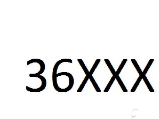 5 Digit car number for sale