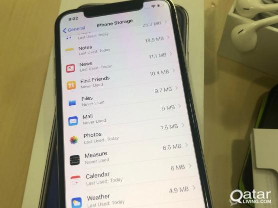urgent sale iPhone X 256