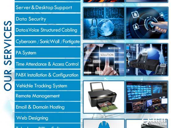 IT SUPPORT,Access Control,bio metric,Heavy printers