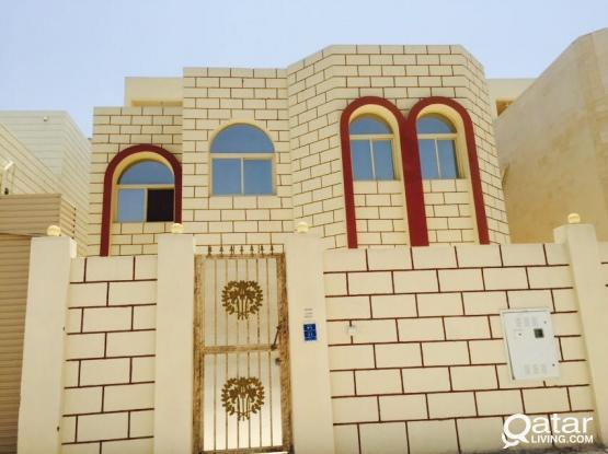 Brand new condition spacious Studio villa apartments available at Luqta behind souq ali