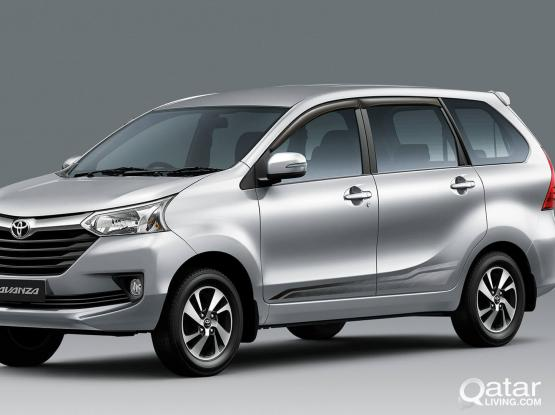 OFFER ON NEW BRAND TOYOTA AVANZA 2019 MODEL 2400/MONTH FOR MORE INF:3111 7404