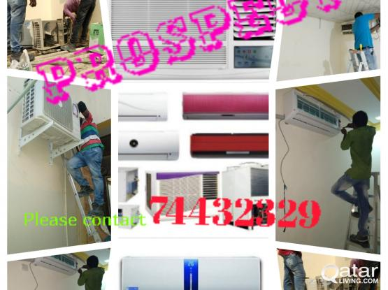 Sale, Service & Maintenance of A/c. Please call or WhatsApp 74432329