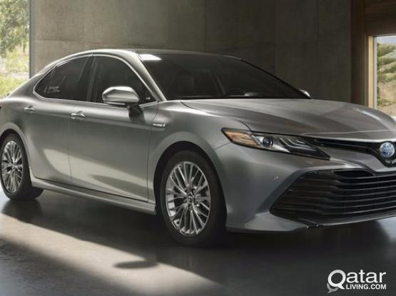 offer on brand new Toyota camry 2019 model 3200 per month only in country rent  a car edzan tower no :II don't  miss this change again and again for more inf:3111 7404