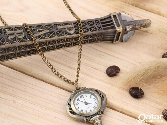 Vintage style Key shape Pocket Watch