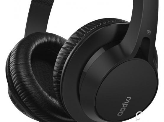 Rapoo S200 Bluetooth Over-Ear Headset Black new