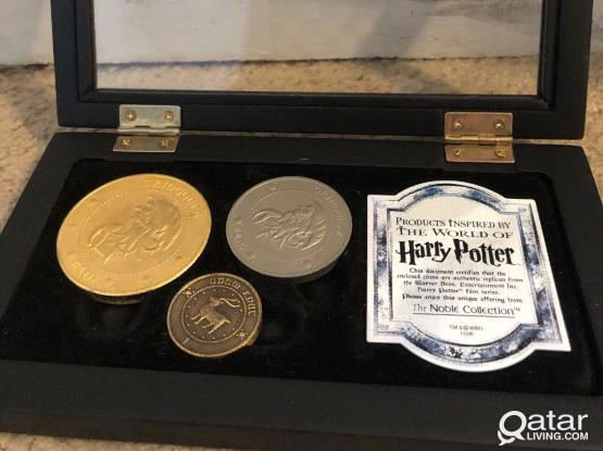 Harry Potter Gringotts Coins from Noble Collections