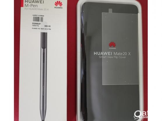 Huawei Original Mate 20 X Pen +Original Flip Cover