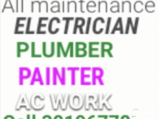 AC WORK ELECTRIC PLUMBING PAIN 30196778